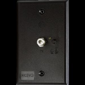 SWKING PB1001 300x300 - Power Switch-Wall Plate, Black