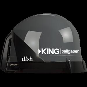 SWKING VQ4500 300x300 - Tailgater Sat TV Antenna, DISH, Black