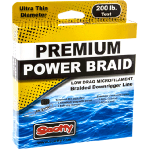 SWSCT 2700K 300x300 - Power Braid Downrigger Line, 200#, 200'