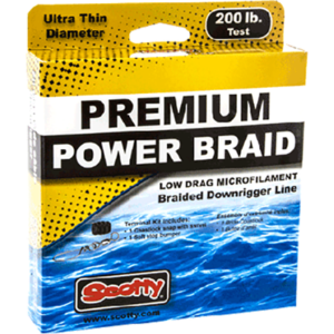 SWSCT 2702K 300x300 - Power Braid Downrigger Line, 200#, 400'