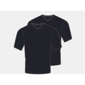 KR21327429001XL 300x300 - Under Armour Men's Charged Cotton V-Neck 2-Pack