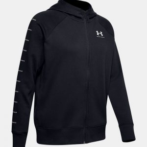 KR21348559001SM 16 300x300 - Under Armour Women's Rival Fleece Sportstyle LC Sleeve Graphic Hoodie