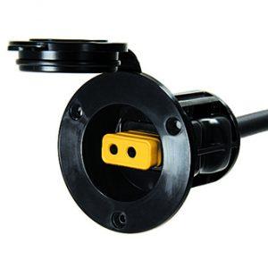 MOX032532 300x300 - Cannon Flush Mount Power Port Black