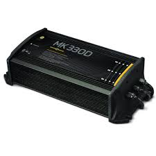MOX034819 - Minn Kota MK-330D Digital Linear Charger 3 Bank 10 Amp