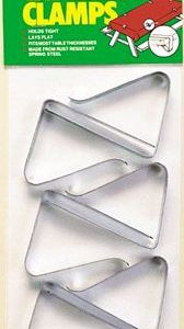 MOX072419 168x300 - Coghlans Tablecloth Clamps - 6 Pack