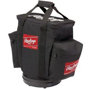 MOX1007659 300x300 - Rawlings Baseball Bucket Ball Bag-Black