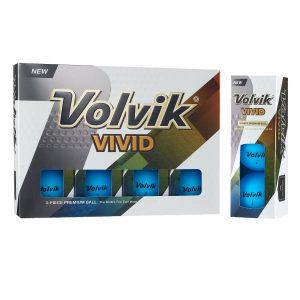MOX1109981 300x300 - Volvik Vivid 3 Pc Golf Balls - Matte Blue