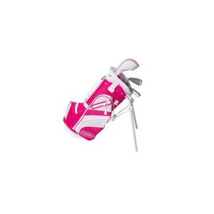 MOX1112543 300x300 - Tour X Size 0 Pink 3pc Jr Golf Set w Stand Bag