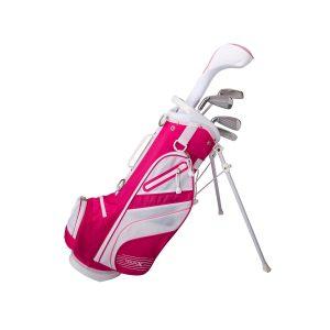 MOX1112544 300x300 - Tour X Size 1 Pink 5pc Jr Golf Set w Stand Bag