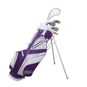 MOX1112546 300x300 - Tour X Size 3 Purple 5pc Jr Golf Set w Stand Bag