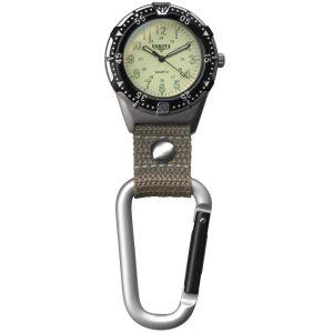 MOX1113425 300x300 - Dakota Aluminum Backpacker Clip Watch-Cream-Khaki