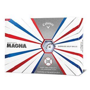 MOX1115320 300x300 - Callaway Golf Supersoft Magna Golf Balls - White - Dozen