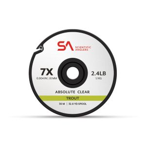 MOX1120046 300x300 - Scientific Anglers Absolute Trout Tippet 30M Clear