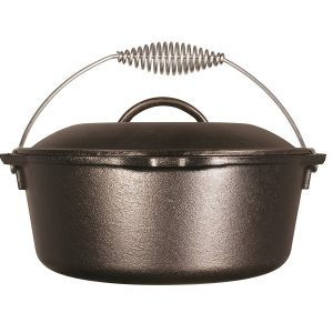 MOX2160024 300x300 - Lodge 10in Cast Iron Dutch Oven Pre-Seasoned 5-Quart