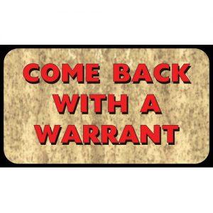 MOX4000870 300x300 - Rivers Edge Come Back With Warrant Door Mat