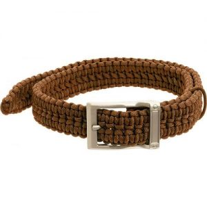 MOX4001864 300x300 - Timberline Coyote Tan Paracord Survival Belt-Small