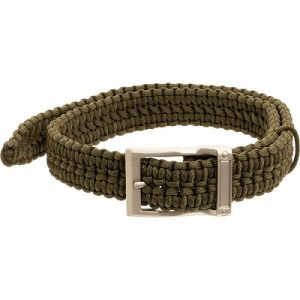 MOX4001868 300x300 - Timberline Olive Paracord Survival Belt-Small