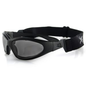 MOX4003386 300x300 - Bobster GXR Sunglasses-Matte Black Frame with Smoked Lens