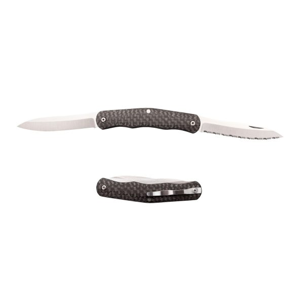 MOX4005076 600x600 - Cold Steel Lucky Folder 2.63 in Blade Carbon Fiber Handle