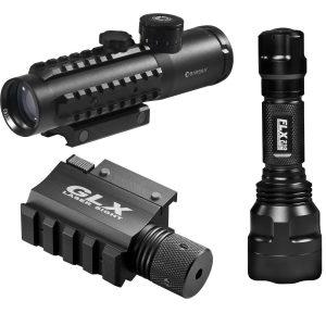 MOX4009739 300x300 - Barks 4x30 IR Electro Sight-Grn Laser-210 Lum LED Flashlight
