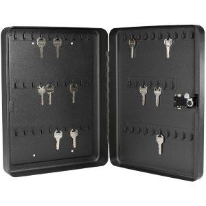 MOX4009760 300x300 - Barska 60 Keys Lock Box With Combination Lock Black