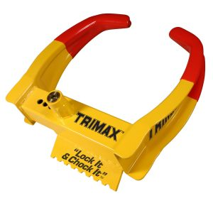MOX4010217 300x300 - Trimax TCL65 Deluxe Universal Wheel Chock Lock-Yellow Red