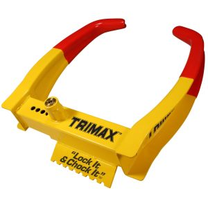 MOX4010218 300x300 - Trimax TCL75 Deluxe Universal Wheel Chock Lock-Yellow Red