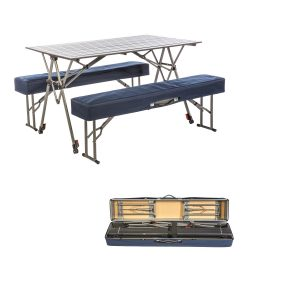 MOX4010952 300x300 - Kamp-Rite Kwik Set Table with Benches