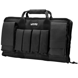 MOX4012593 300x300 - Barska Loaded Gear RX-50 16in Dual Pistol Case-Black