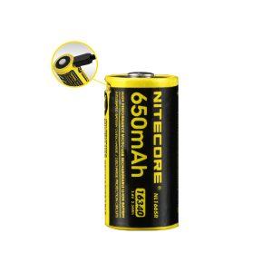 MOX4017667 300x300 - NITECORE NL1665R 650mAh 16340 MicroUSB RCHRGBL Li-ionBattery
