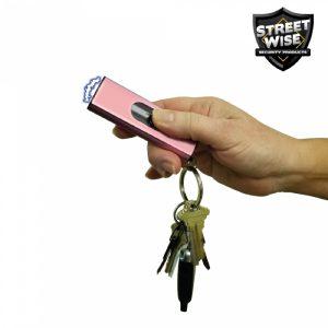 MOX4018656 300x300 - Cutting Edge Streetwise USB 22 mil Stun Gun Flashlight Pink