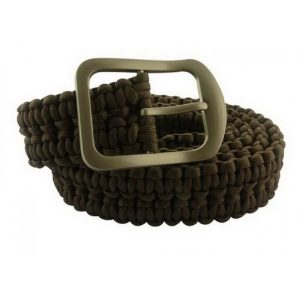 MOX4018899 300x300 - Impulse Product Paracord Belt with Steel Buckle Black
