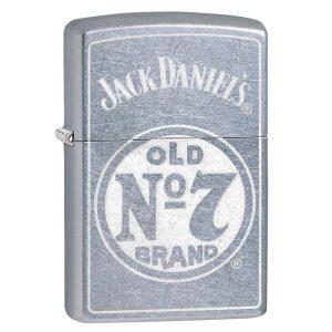 MOX4019215 300x300 - Zippo Street Chrome Jack Daniel No 7 Lighter