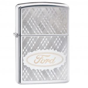 MOX4019223 300x300 - Zippo HP Chrome Ford Lighter