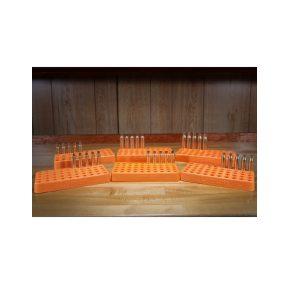 MOX4019289 300x300 - Lyman Custom Fit Loading Block .388 Diameter Orange
