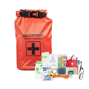 MOX4019368 300x300 - Life Gear 130PC First Aid Survival Kit and Dry Bag