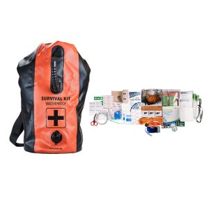 MOX4019369 300x300 - Life Gear 2 Person 72 Hour Survival Kit and Dry Bag