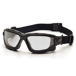 MOX5001784 300x300 - Pyramex I-Force Black Frame Clear AF Lens Sealed Eyewear