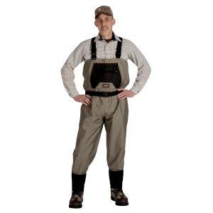 MOX5015034 300x300 - Caddis Mens Breathable Stockingfoot Waders - Medium Tan