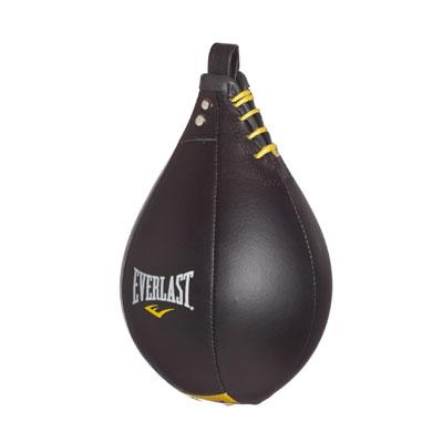 MOX529833 - Everlast Leather Speed Bag Black Large