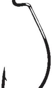 MOX5831325 181x300 - Gamakatsu Offset Shank Worm Ewg Red Hook Size 2/0 25 Pack