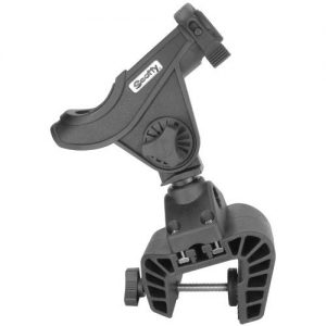 MOX620894 300x300 - Scotty Baitcaster Rod Holder w 449 Clamp Mount Black