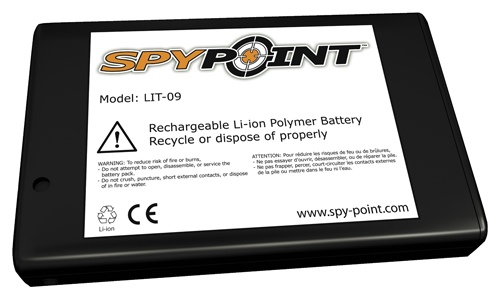 MOX7122348 - Spypoint Additional lithium battery for LIT-C-8