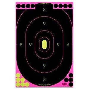 MOX734635 - Birchwood Casey Shoot-N-C Pink 12x18 Silhouette Trgt 5 PK