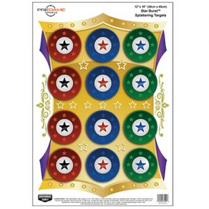 MOX735572 300x300 - Birchwood Casey PREGAME Star Burst 12x18 Target 8PK