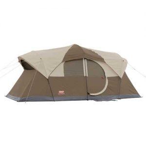MOX765837 300x300 - Coleman Weathermaster 10 Tent 17x9 Ft Brwn Tan Bl