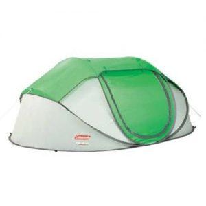 MOX767721 300x300 - Coleman Popup 4 Tent 9.25x6.5 Foot Green Lght Gry