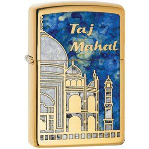 MOX9000759 300x300 - Zippo High Polish Brass Fusion Taj Mahal Lighter
