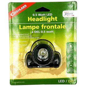 MOX9005744 300x300 - Coghlans .5 Watt LED Headlight Black