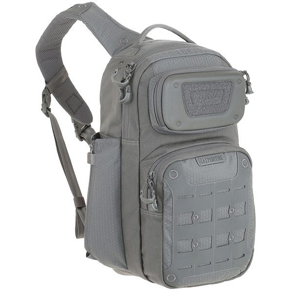 MOX9006260 600x600 - Maxpedition Gridflux Ergonomic Sling Pack 18L Gray